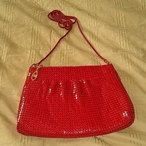 Fancy red clutch